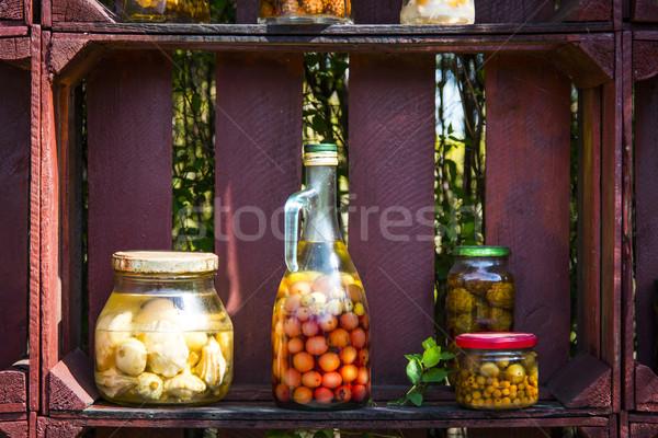 Healthy omemade preserves Stock photo © Hochwander