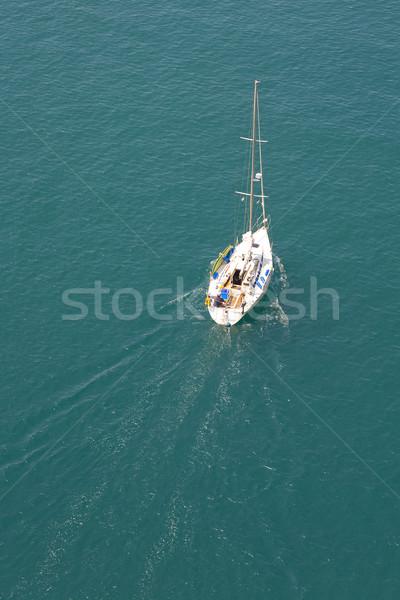 Stock photo: summer yachting