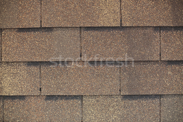 fragment of roof shingle Stock photo © Hochwander