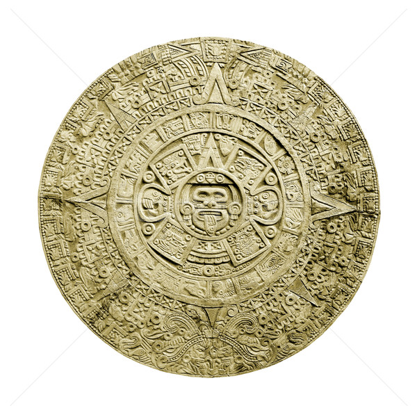 aztec calendar Stock photo © Hochwander
