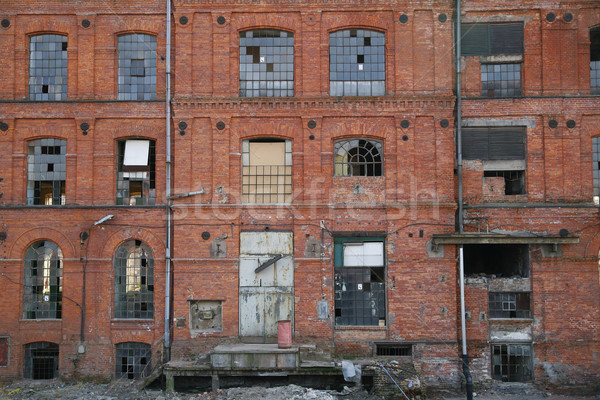 an old manufacture Stock photo © Hochwander