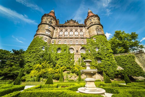 Stock photo: Garden of Ksiaz Castle