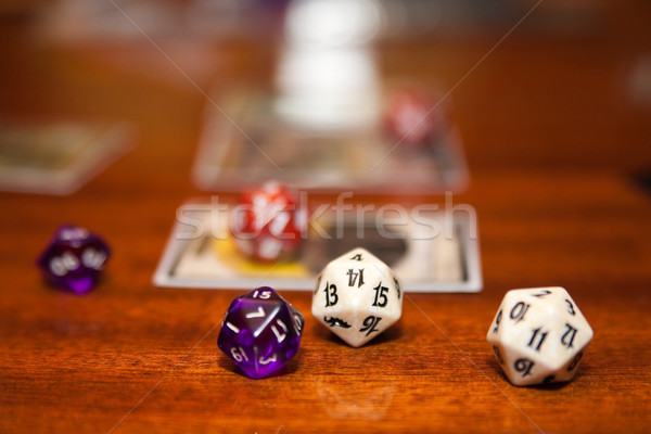 few dices Stock photo © Hochwander