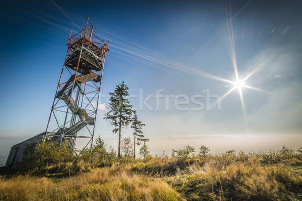 мнение башни гор Чешская республика горные Сток-фото © Hochwander