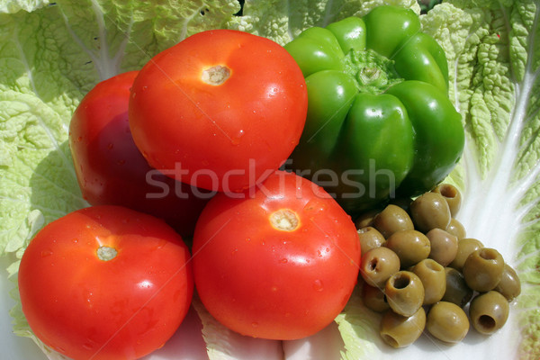 vegetables Stock photo © Hochwander