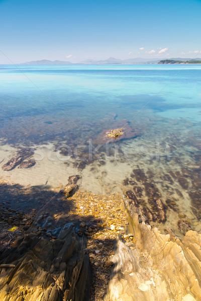 Francés la exposición a largo foto playa naturaleza mar Foto stock © Hochwander
