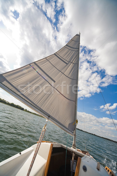 yachting Stock photo © Hochwander