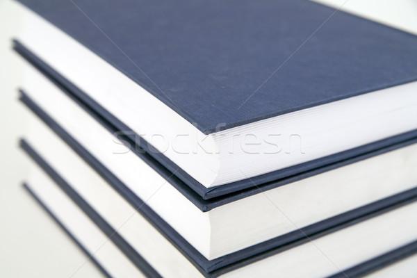 Stockfoto: Boeken · witte · papier · boek · student