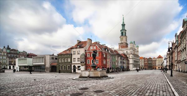 旧市街 ホール ポーランド 写真 12 建物 ストックフォト © Hochwander