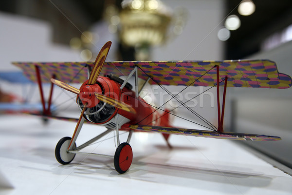 model of WW1 plane Stock photo © Hochwander