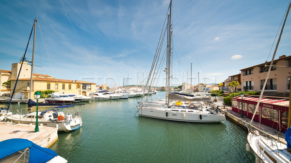 Port Grimaud Stock photo © Hochwander