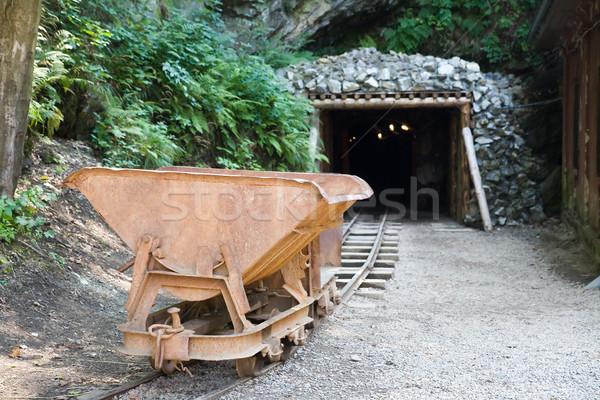 mine trolley Stock photo © Hochwander