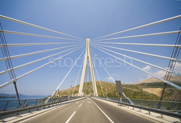 Franj Tudman's bridge Stock photo © Hochwander