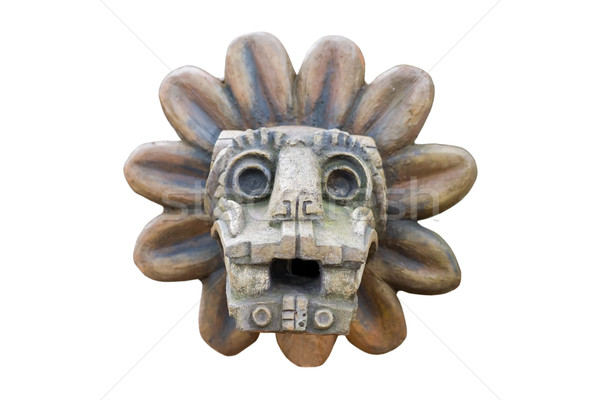 ancient aztec relief Stock photo © Hochwander