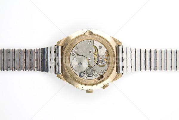 Сток-фото: гол · Смотреть · старые · русский · свет · часы