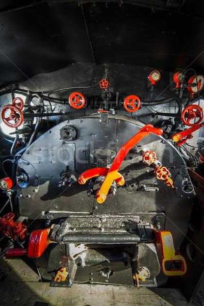Motor quarto pormenor tecnologia indústria Foto stock © Hochwander