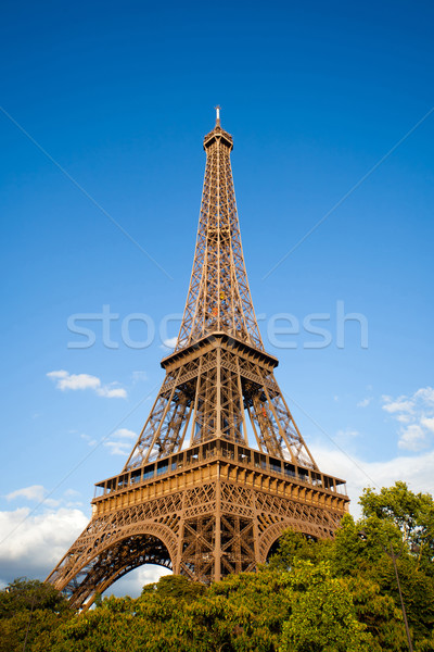 Eiffel Tower during the day. Paris, France Stock photo © Hochwander