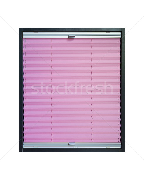 Pleated blind Stock photo © Hochwander