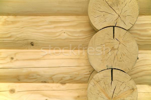 Houten abstract fragment hout achtergrond Stockfoto © Hochwander