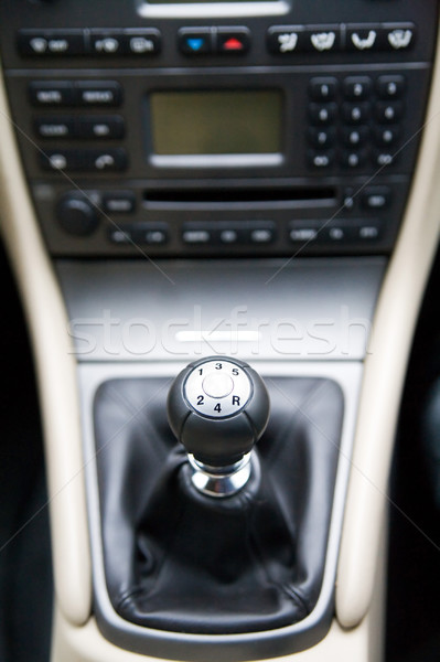 gear lever Stock photo © Hochwander
