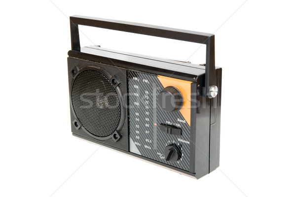 an old radio Stock photo © Hochwander