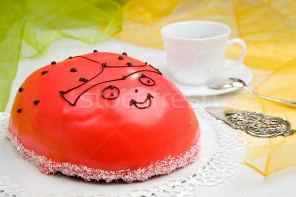 ladybird cake Stock photo © Hochwander