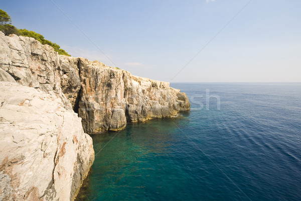 Croatian landscape Stock photo © Hochwander