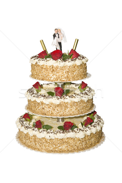wedding cake Stock photo © Hochwander