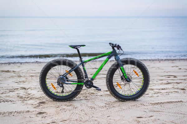 Fat bike on beach Stock photo © Hochwander