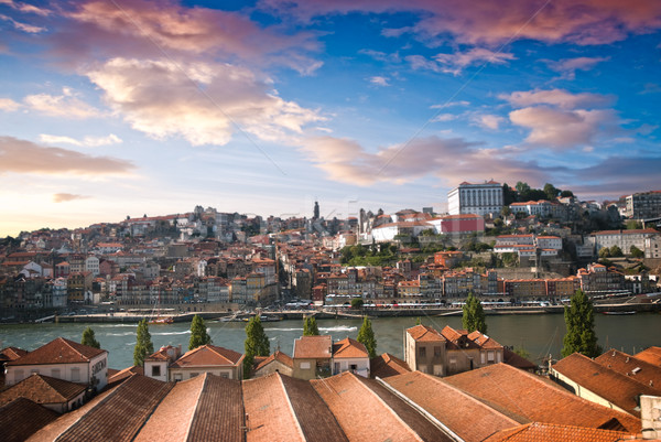 Old city Porto Stock photo © homydesign
