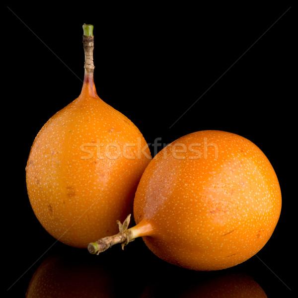 情熱 フルーツ 食品 背景 オレンジ 熱帯 ストックフォト © homydesign