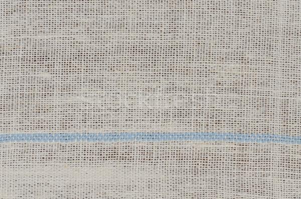 Beżowy tkaniny szczegół tekstury papieru Zdjęcia stock © homydesign
