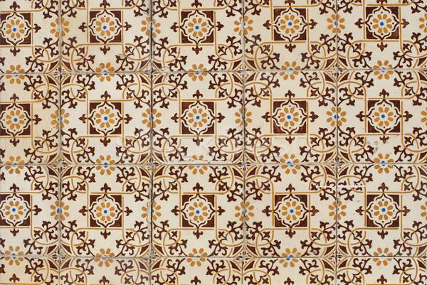 Portuguese glazed tiles 125 Stock photo © homydesign