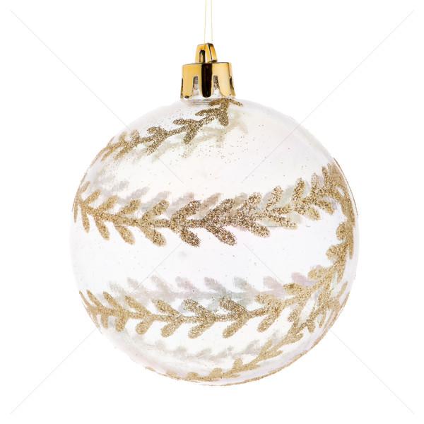 Christmas ball isolated Stock photo © homydesign