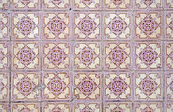 Old tiles background  Stock photo © homydesign