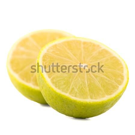 Fresh green limes Stock photo © homydesign