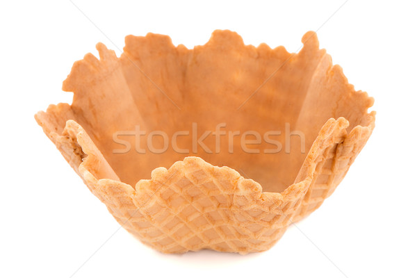 Wafer cup Stock photo © homydesign