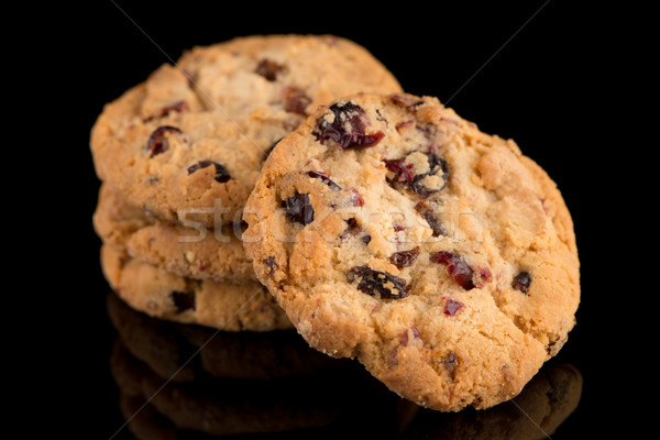 Dried fruits chip cookies  Stock photo © homydesign