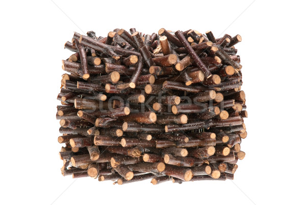 Pile of assorted sawed twigs and branches  Stock photo © homydesign