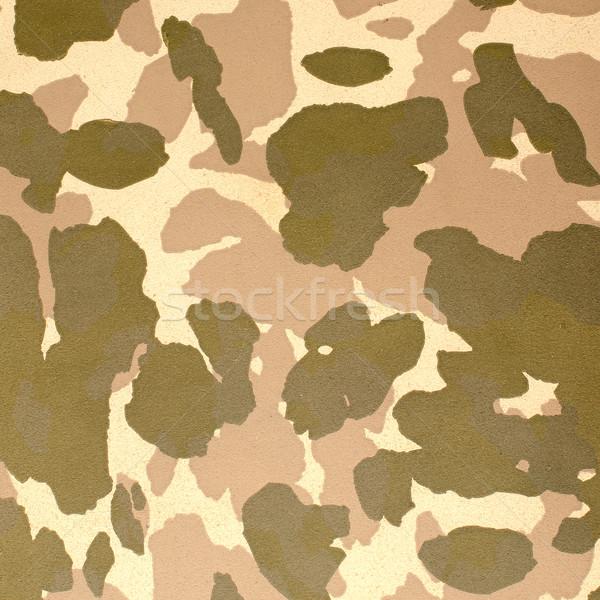 Desert camouflage pattern  Stock photo © homydesign