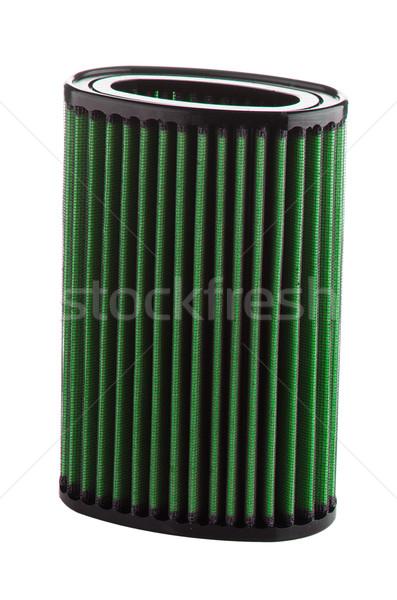 Air filtrer blanche véhicule modification Photo stock © homydesign