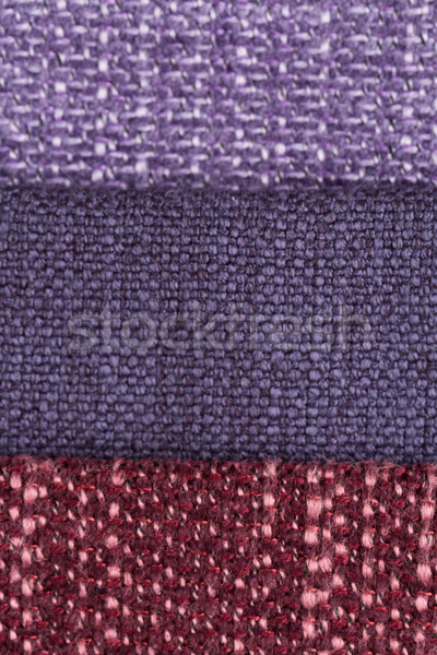 Multi color fabric texture samples Stock photo © homydesign