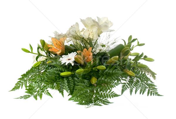 Beautiful flower arrangement Stock photo © homydesign