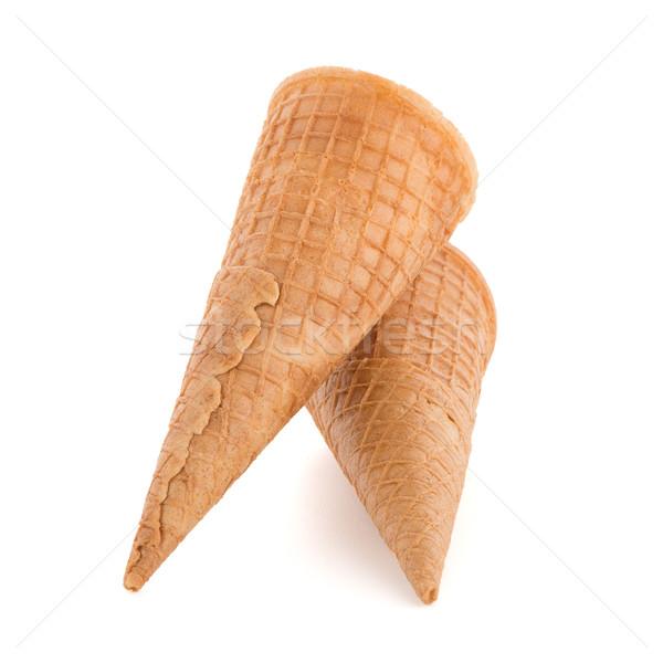 Wafer cones Stock photo © homydesign