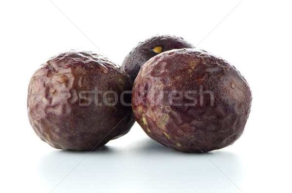 Passion fruits blanche Photo stock © homydesign