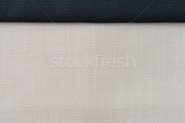 Linen canvas background Stock photo © homydesign