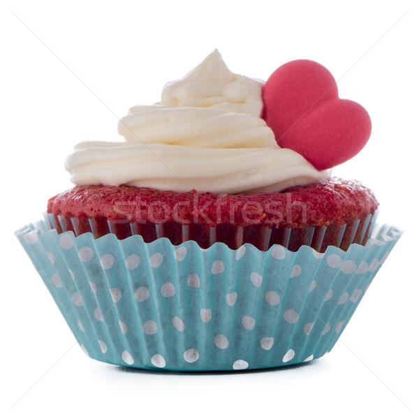 Heart Cupcake Stock photo © homydesign