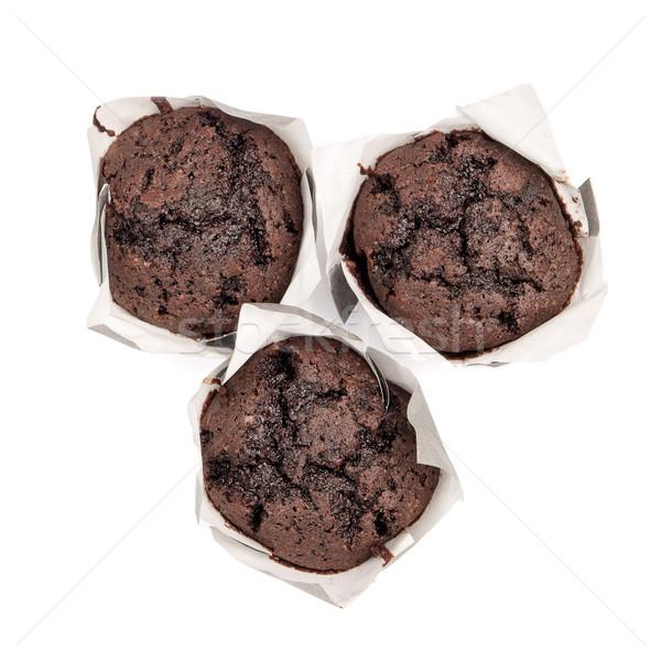 Typisch spaans muffin chocolade zoet voedsel Stockfoto © homydesign