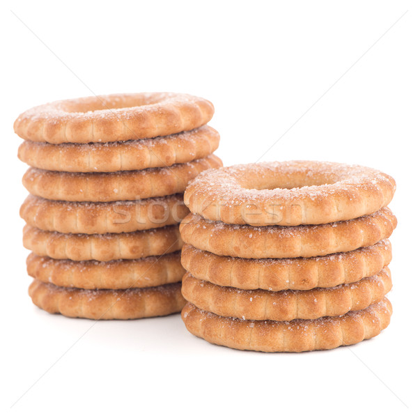 Rings biscuits Stock photo © homydesign