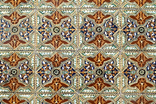 Portuguese glazed tiles 011 Stock photo © homydesign
